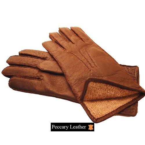 Alpamayo Peccary Leather Gloves