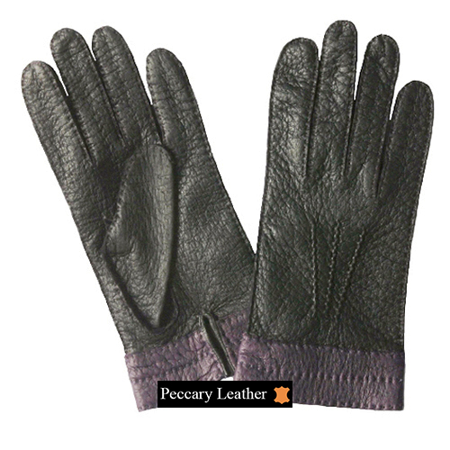 Camila Peccary Leather Gloves