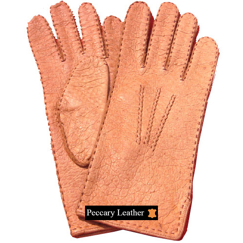 Huascaran Peccary Leather Gloves