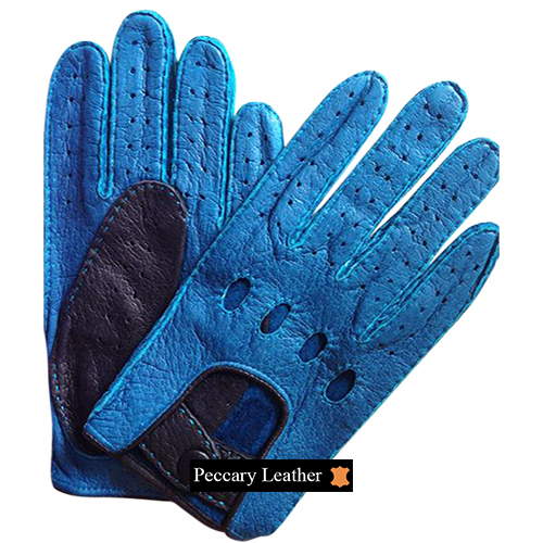 Jaime Peccary Leather Gloves