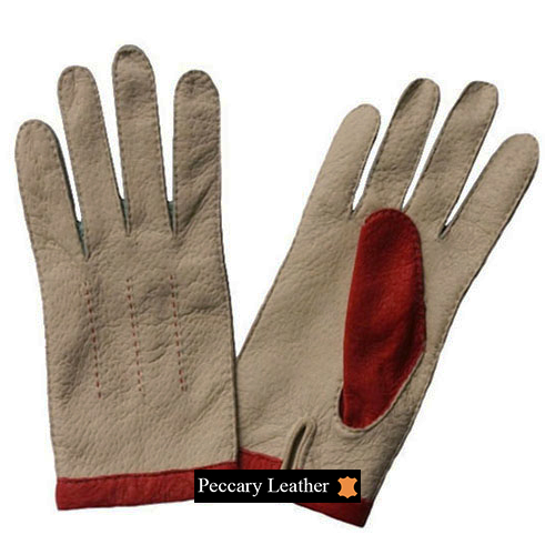 Sabrina Peccary Leather Gloves
