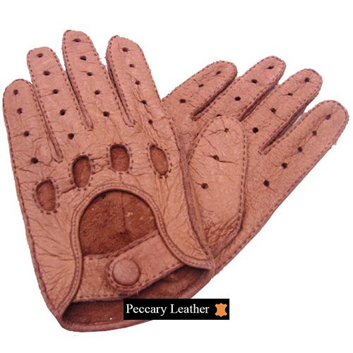 Peccary-Lederhandschuhe Vilcabamba