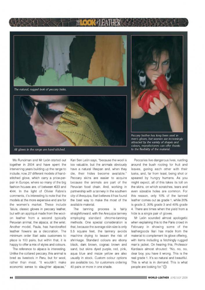 Revista WorldLeather